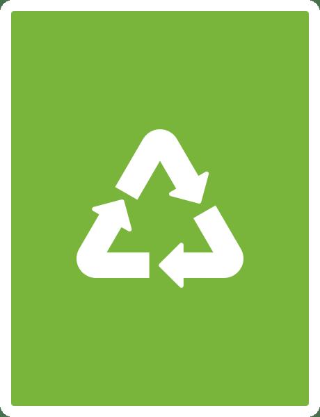100% de garrafas recicláveis e cada dia mais plástico reciclado